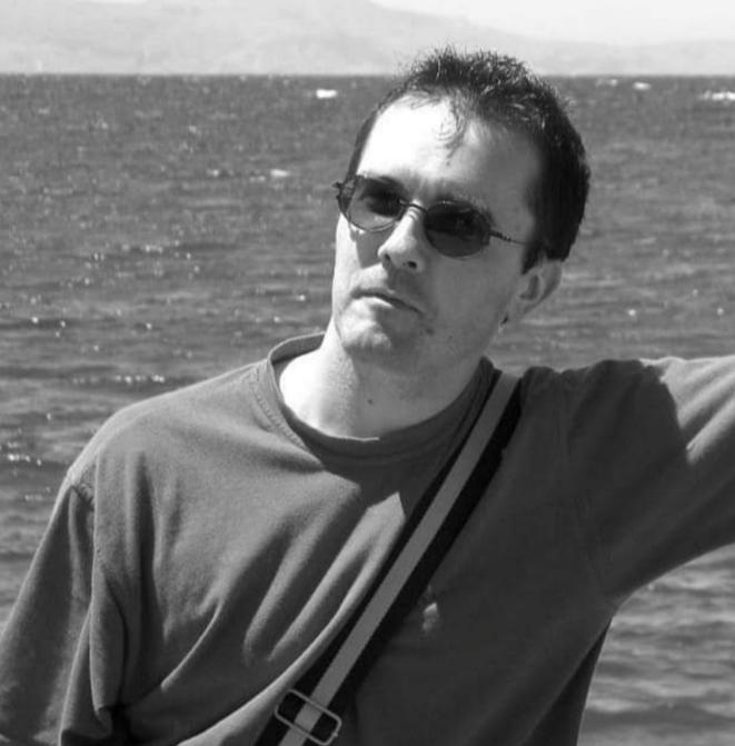 Samuel Paty. © Compte Twitter de Christophe Capuano, maître de conférences à l'université Lyon2
