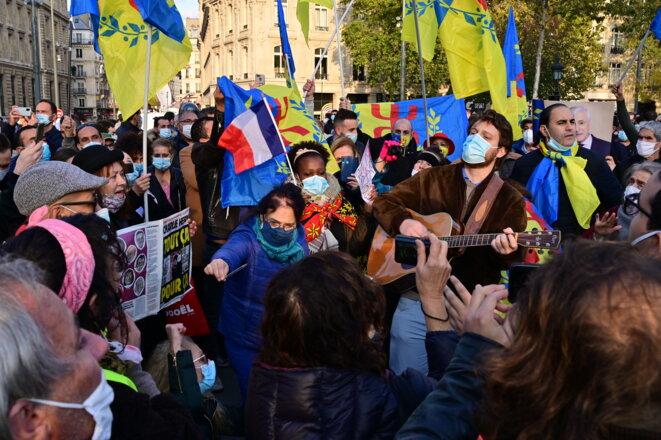 Hommage Samuel Paty Place de la République © Denis Spilet