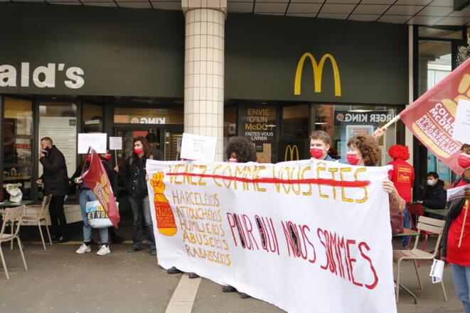 Manifestation du collectif McDroits © Ana Gayon Photographies
