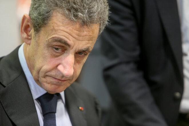 Nicolas Sarkozy, en décembre 2019. © Nicolas Guyonnet / Hans Lucas via AFP