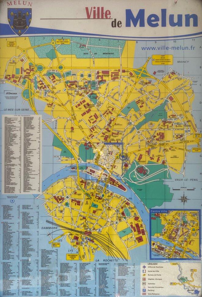 Plan de Melun avant 2014