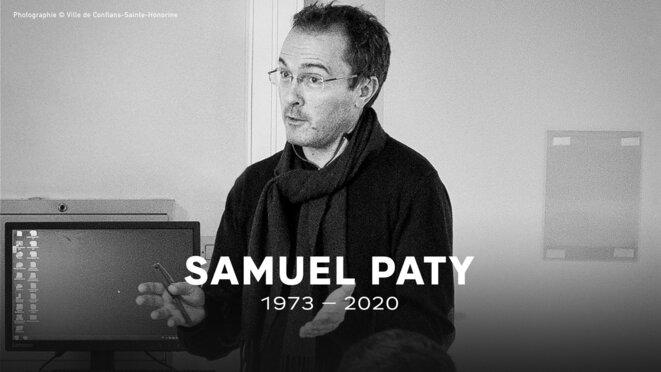 Samuel Paty enseignant la liberté d'expression © Ville de Conflans-Saint-Honorine