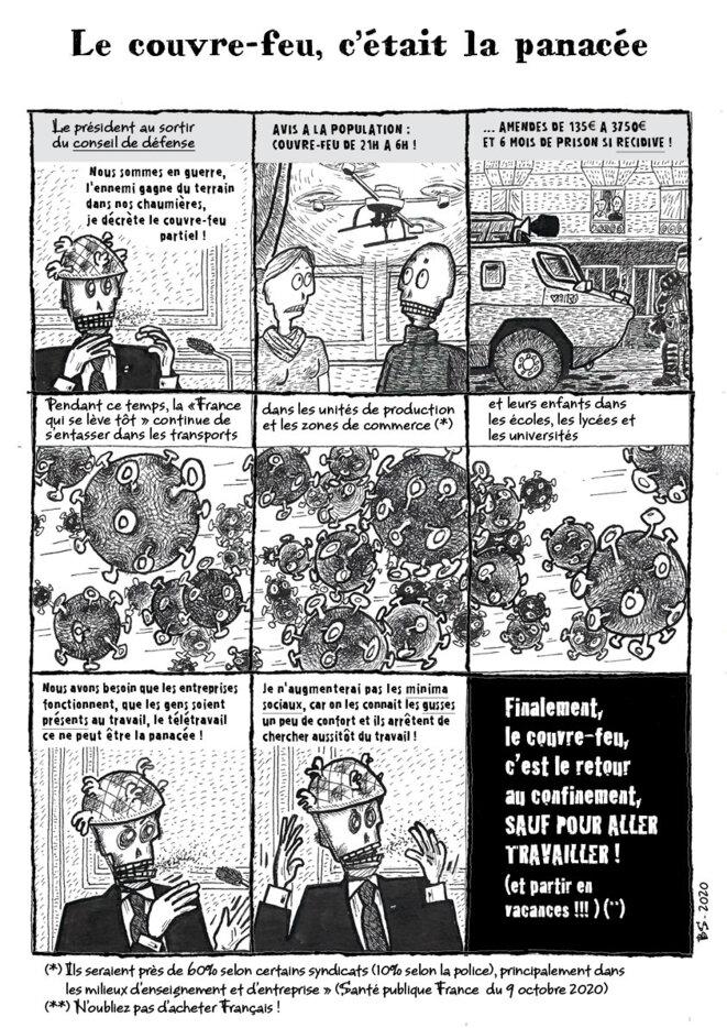 23 - Notes comix autour du coronavirus © Barthélémy Schwartz