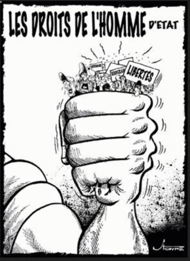 Les droits de l'Homme … d'État © Favre
