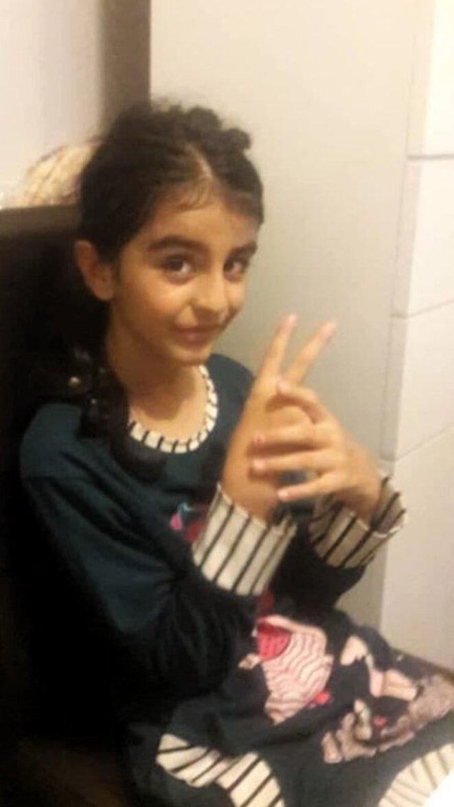 Anita Irannejad, 9 ans