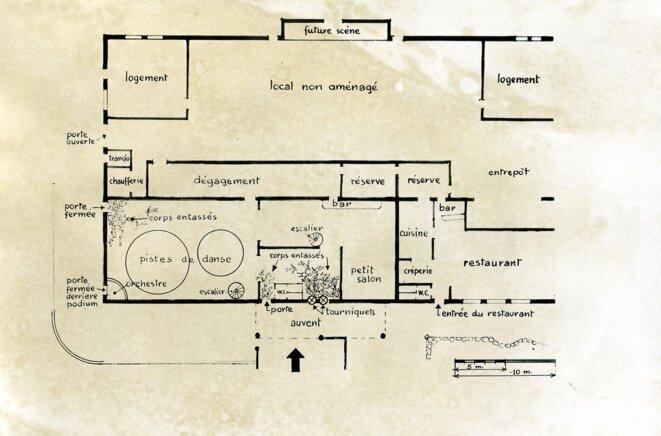 Le plan intérieur du 5-7 (parution Dauphiné Libéré)