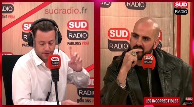Le blogueur d'extrême droite Papacito invité de Sud Radio.