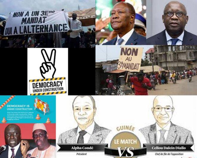 Turbulences politiques en Afrique de l'Ouest