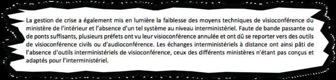 Extrait du rapport confidentiel. © Document Mediapart