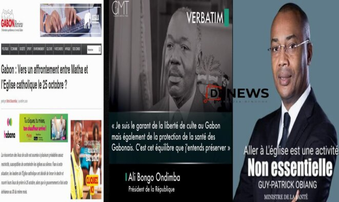 Gabon-Violence d'Etat contre l'église et fidèles catholiques