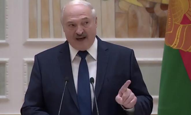 Alexandre Loukachenko, vendredi 30 octobre. © (capture d'écran)