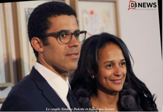 Le couple Sindika Dokolo et Isabel dos Santos