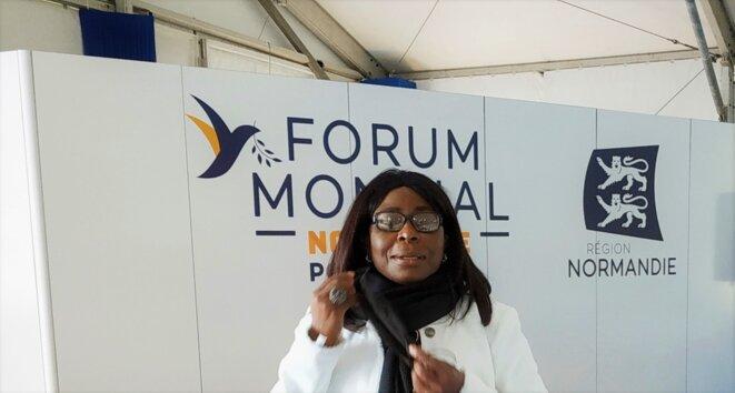 Anne Marie DWORAXZEK-BENDOME, Caen, 1 octobre 2020