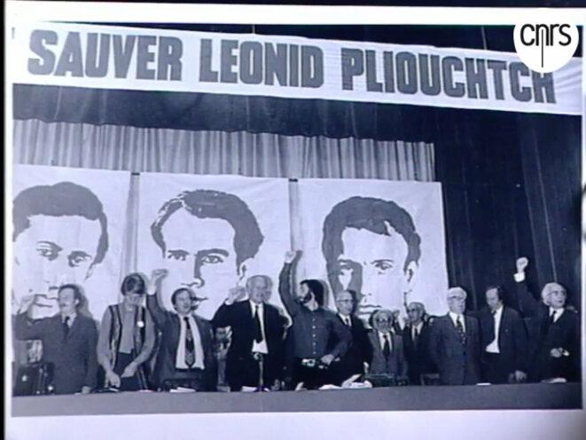 Loulou est au centre-gauche, la tête devant la bouche de Pliouchtch