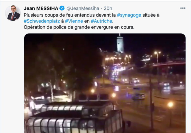 Compte Twitter de Jean Messiha.