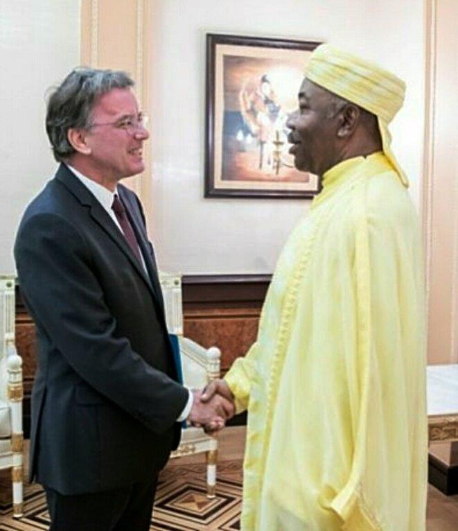 Philippe Autié a dû le constater par lui-même : Ali Bongo est définitivement perdu pour la politique