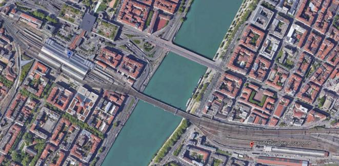 Carte LPR - LN-SC © Vesper via Google Maps