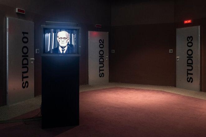 Paranoïa TV, Freud simulation, 53rd Steirischer Herbst, Graz, 14 septembre - 18 octobre 2020 © Mathias Voelzke