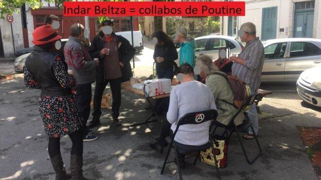 Indar Beltza, Bayonne © Pierre HAFFNER