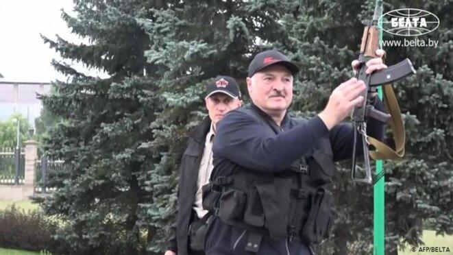 Le dictateur Loukachenko © DW