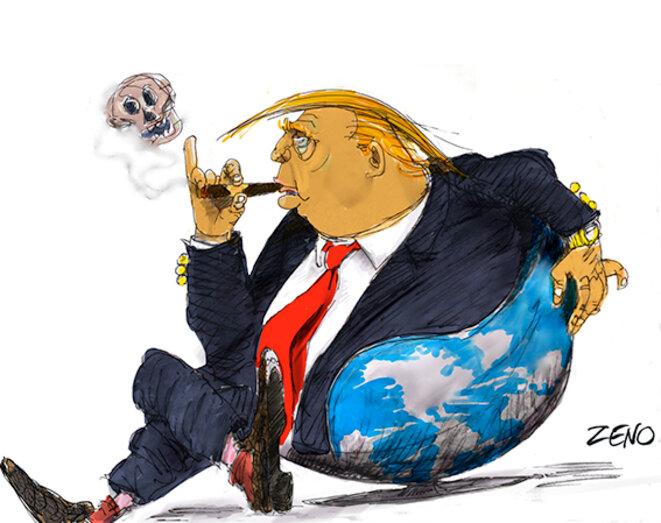 Trump: après moi le déluge © zeno