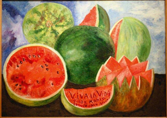 Viva la Vida, de Frida Kahlo