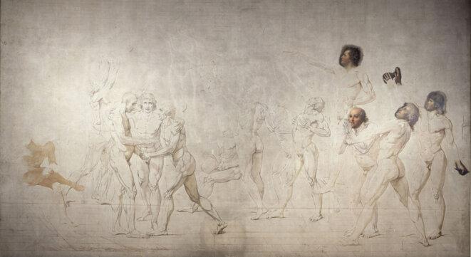 Le Serment du Jeu de paume © Jacques Louis David 1791-1792