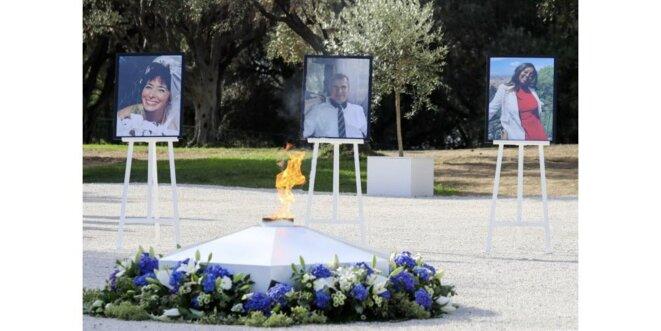 Hommage National aux victimes assassinées dans la Basilique Notre-Dame de l'Assomption à Nice © X