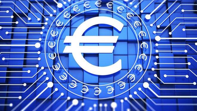 L'euro numérique © Les Echos