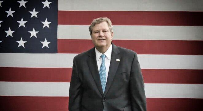 Mike Hammer, l'omniprésent ambassadeur américain à Kinshasa © DR