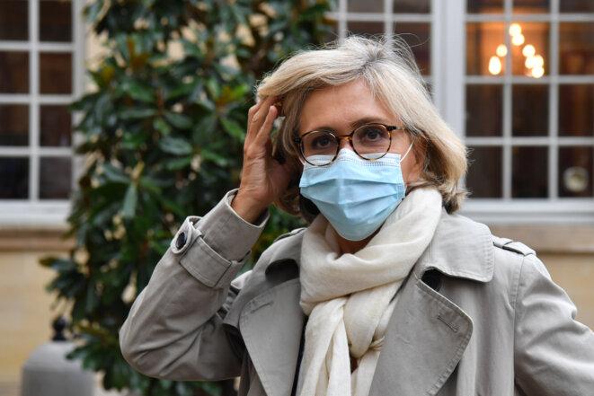 Valérie Pécresse à Matignon, fin septembre 2020. © Alain JOCARD / AFP
