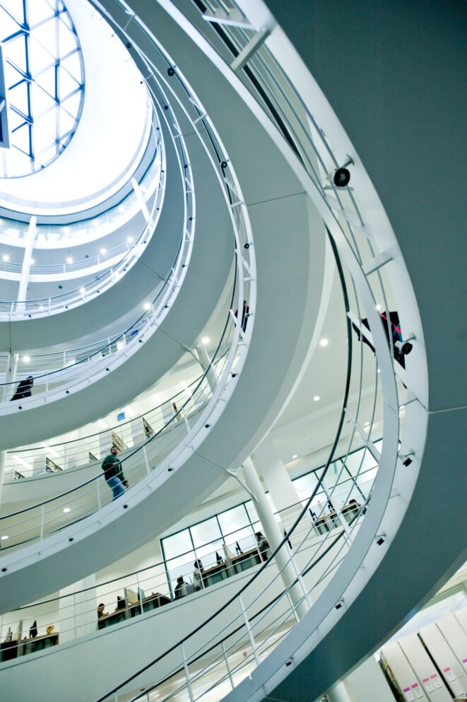 La London School of Economics, en 2010. © Ben Pipe / Robert Harding Premium / robertharding via AFP
