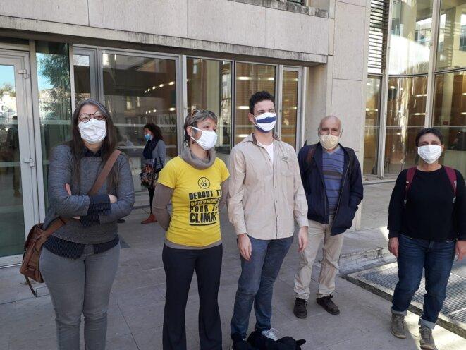 Les scientifiques Virginie Maris et Roland Desbordes sont venus placer le procès au coeur des enjeux climatiques