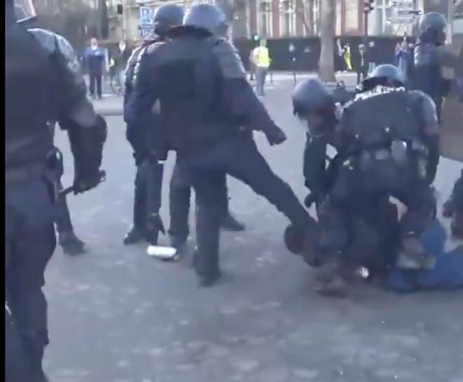 Image de la vidéo enregistrée le 23 février 2019, Paris.