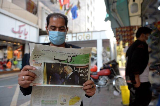 A Téhéran le 9 novembre 2020. © Fatemeh Bahrami/ANADOLU AGENCY/AFP