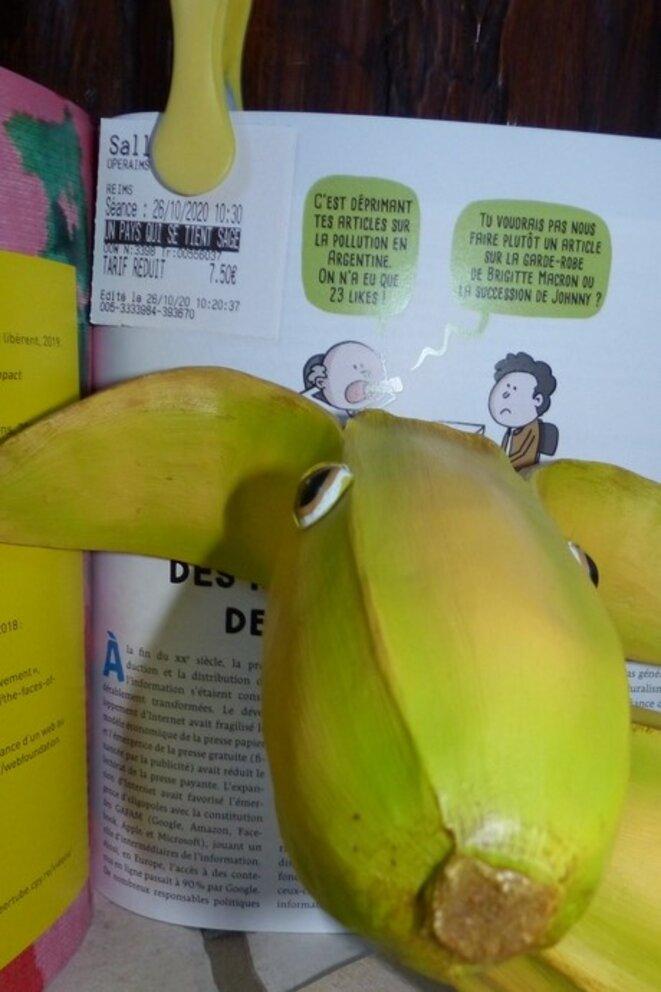 Le chien banane et le manuel du futur d'Attac