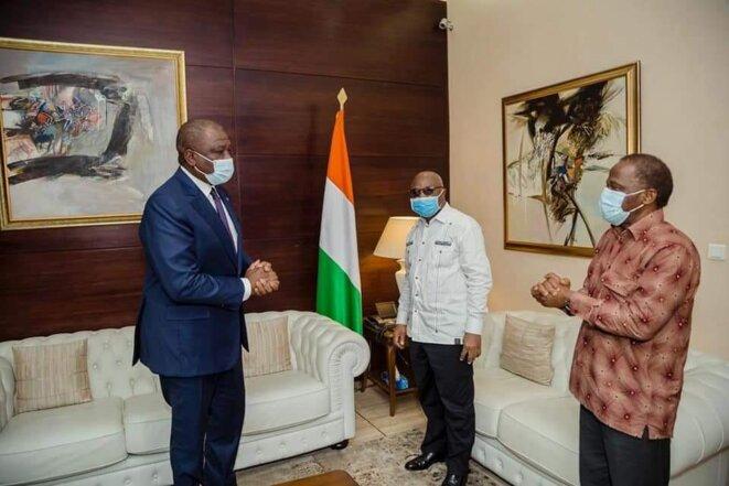 Le PM ivoirien reçoit © Daniel Smith