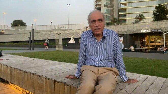 Ziad Takieddine, en octobre 2020, au Liban. © DR/BFMTV