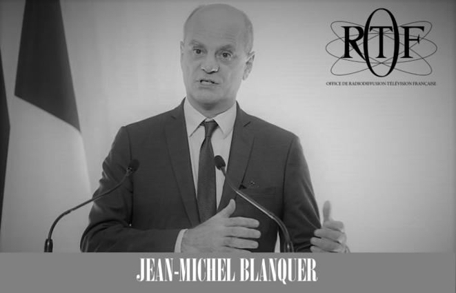 Blanquer ou l'immobilisme © SUD éducation Loiret