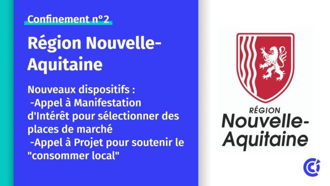 Place de marché plateforme de producteurs locaux commercants Gironde landes Nouvelle aquitaine © Region nouvelle aquitaine