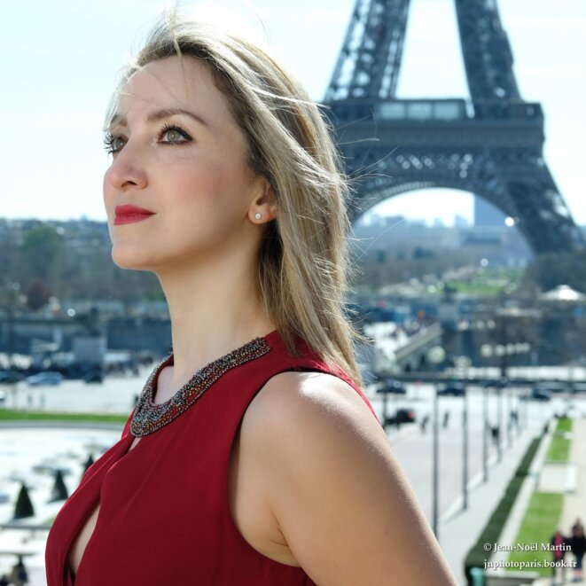 Tarana Chanteuse Franco-Azerbaïdjanaise © Photo : Jean-Noël Martin