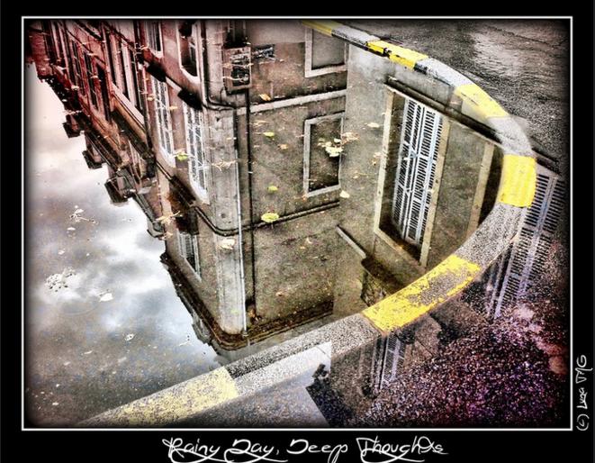 Rainy Day, Deep Thoughts / Jour Pluvieux, Pensées Profondes © Luna TMG Flickr