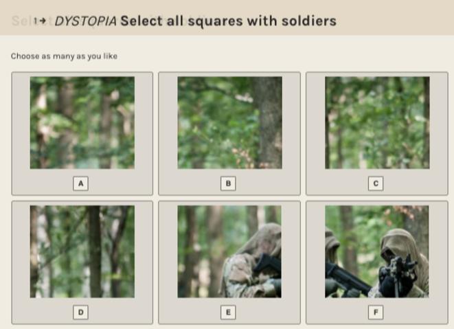 Voulons-nous améliorer la reconnaissance des soldats? © Silent Work / Berliner Gazette