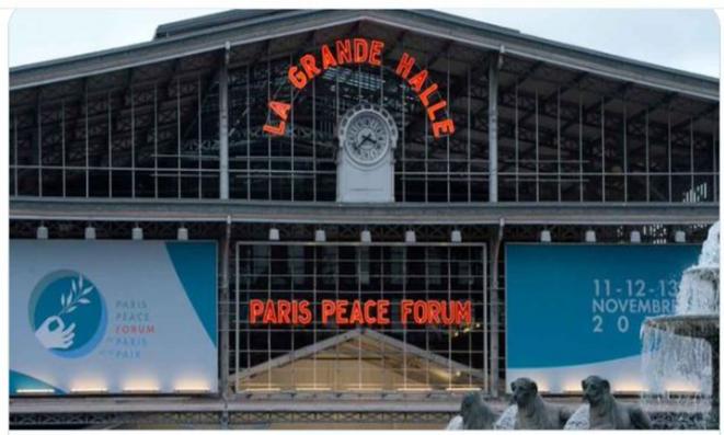 Forum de Paris sur la Paix 2020 - Grande Halle de la Villette