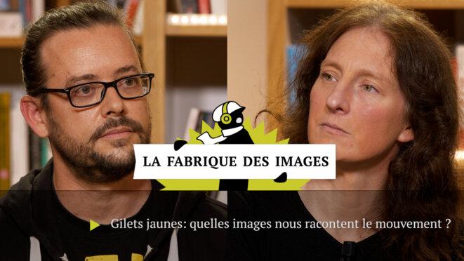 Raymond Macherel et Ludivine Bantigny. © Mediapart
