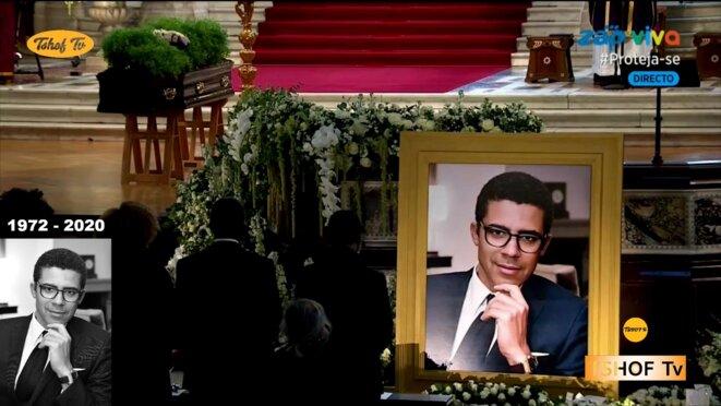 Londres les funérailles de SINDIKA DOKOLO (1972 – 2020)