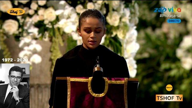 Londres-les-funerailles-de-SINDIKA-DOKOLO-1972-2020- Eloge funèbre d'une fille à son père