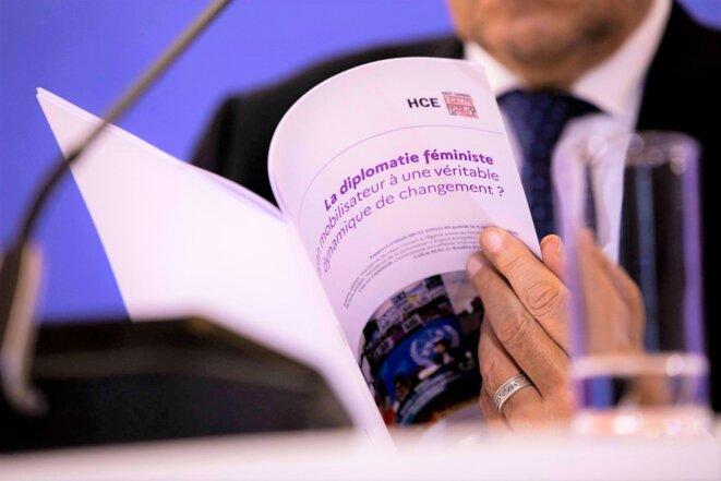 HCEfh, le  rapport sur la « Diplomatie féministe »