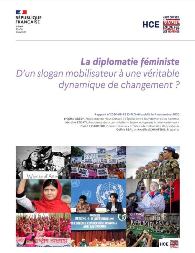 Rapport sur la diplomatie féministe