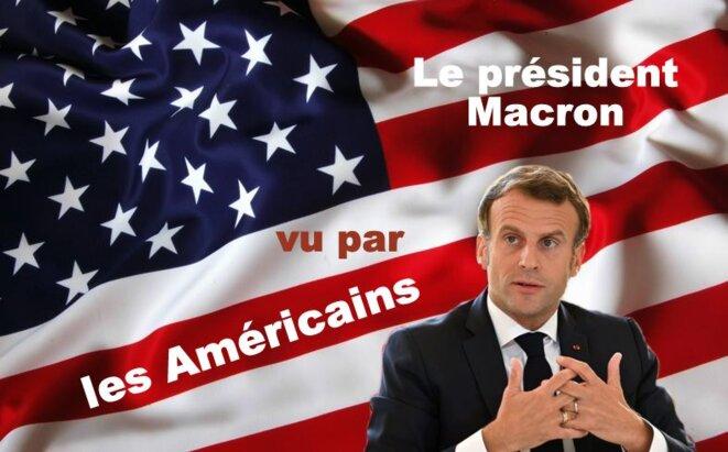 Emmanuel Macron vu par les Américains © Claude Carrère
